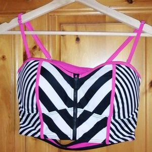 La vie en rose bikini top size medium